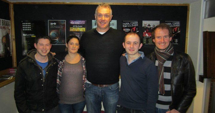 Meeting Greg Davies